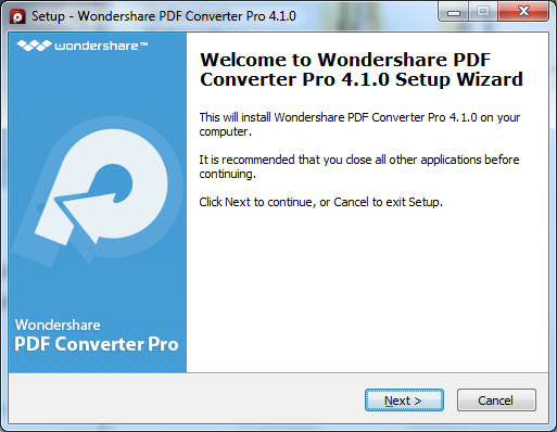 installa pdf converter pro