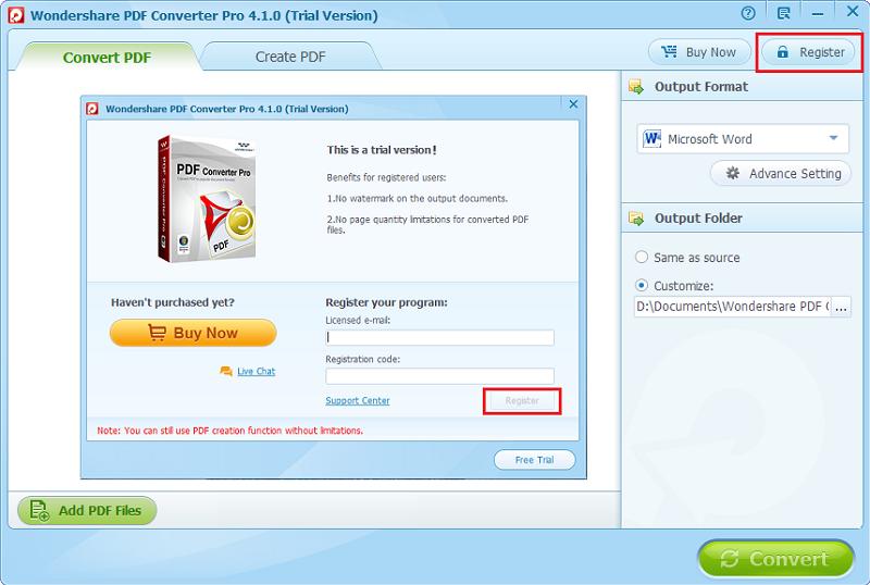registra pdf converter pro