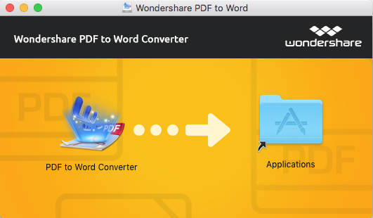 install pdf to word for mac