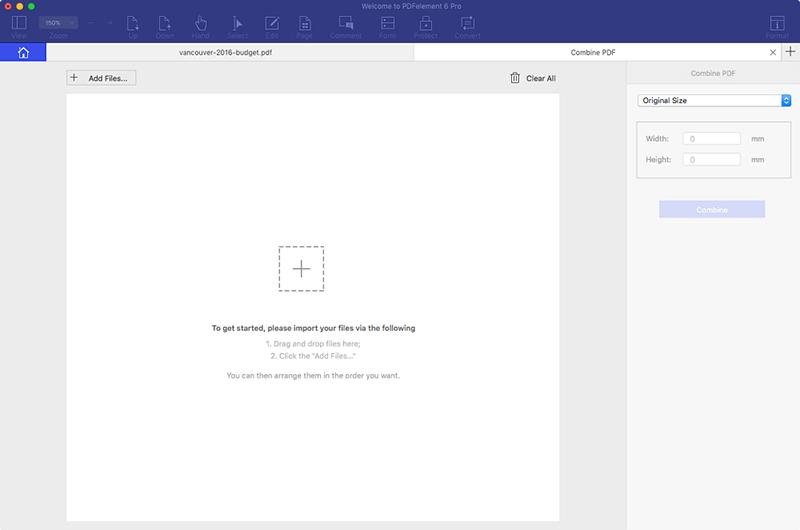 combinazione file scannerizzati su mac