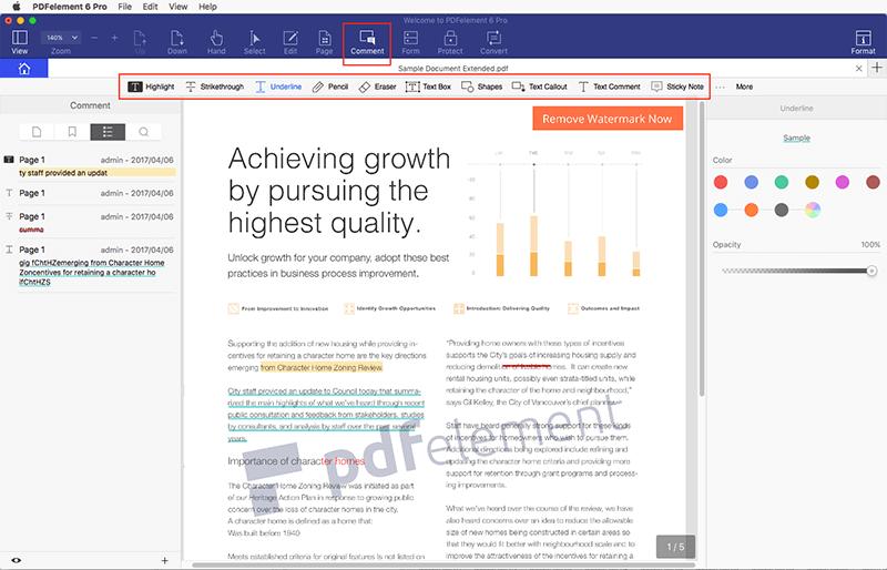 disegnare su pdf su mac