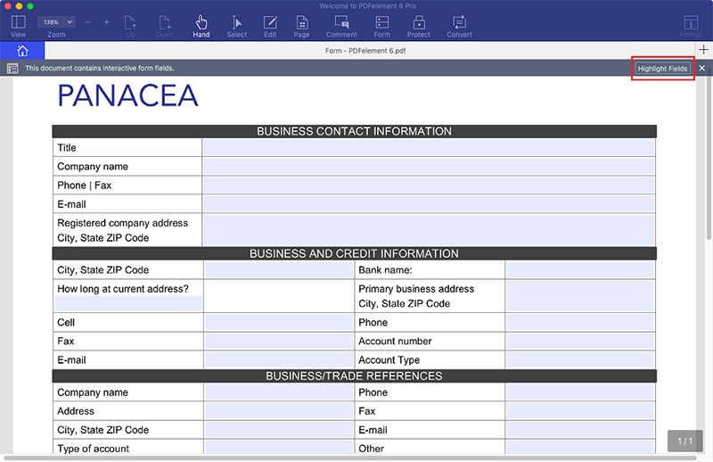 compila moduli pdf su mac