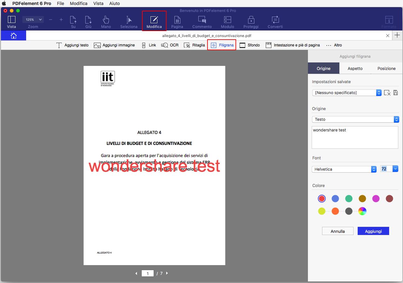 batch pdf watermark software for mac