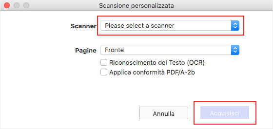 scan multiple pages to pdf mac