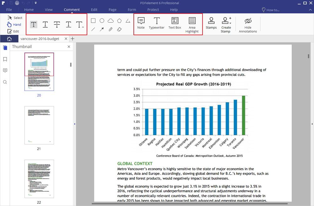 marcatura dei pdf