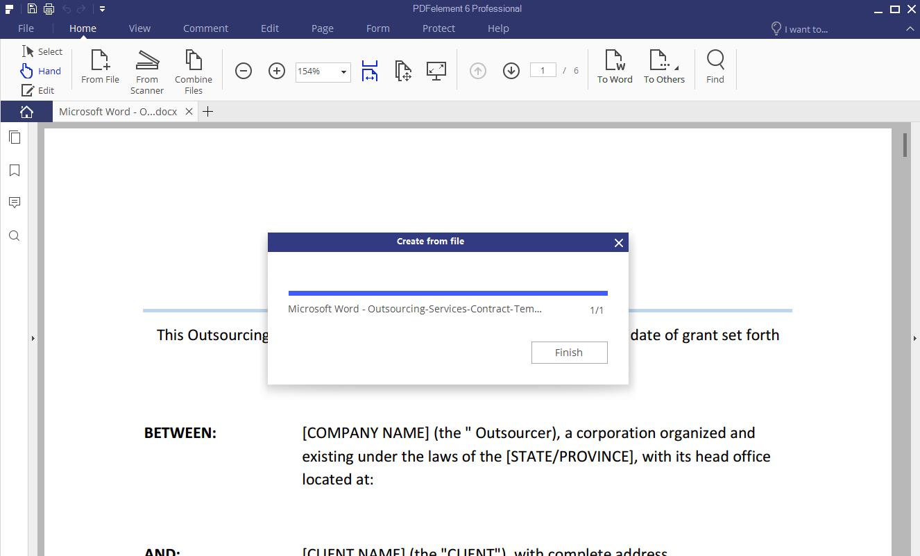 Nitro da PDF a Excel