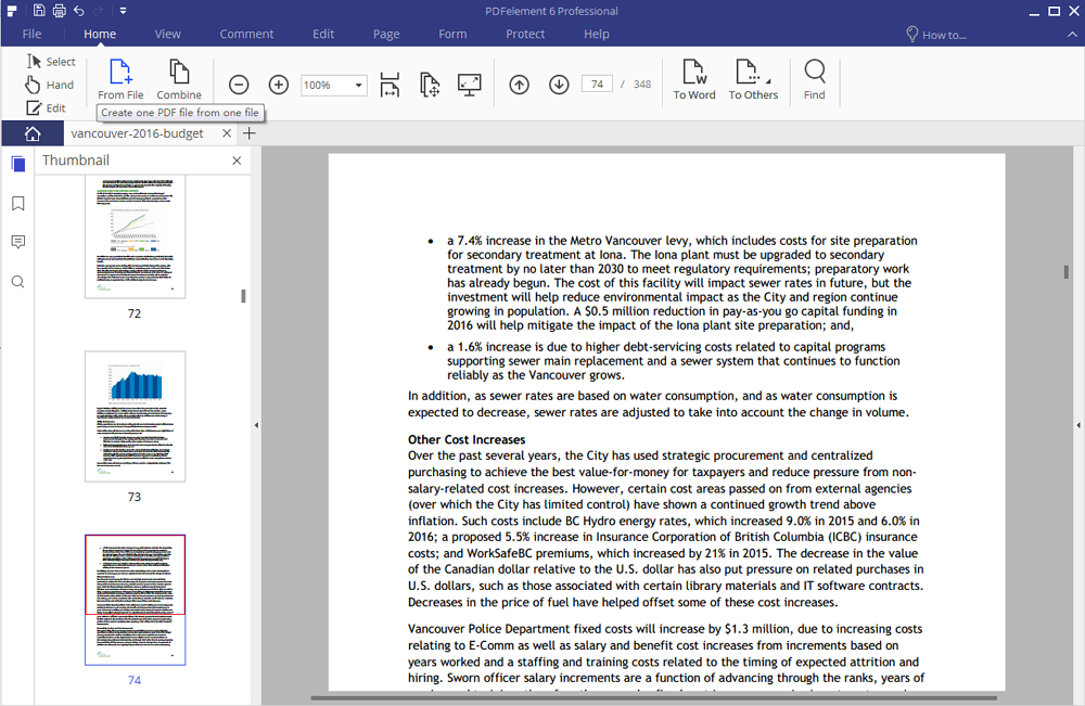Converti PDF Immagine in Excel