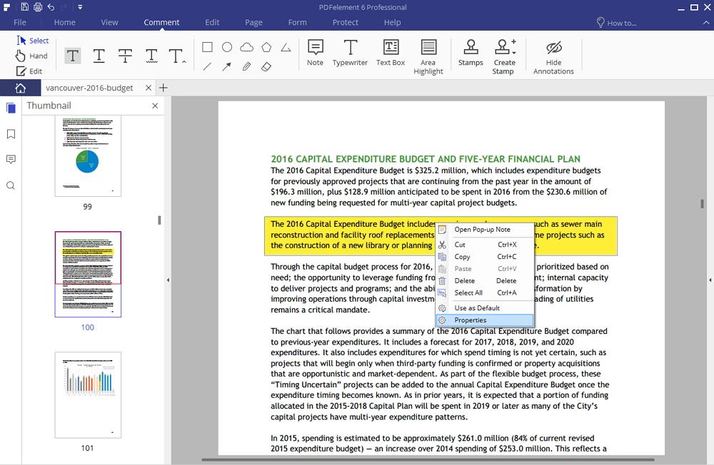 colore di evidenziazione pdf