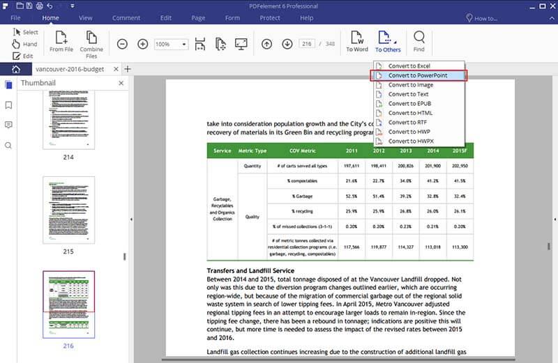 convertitore di pdf in powerpoint