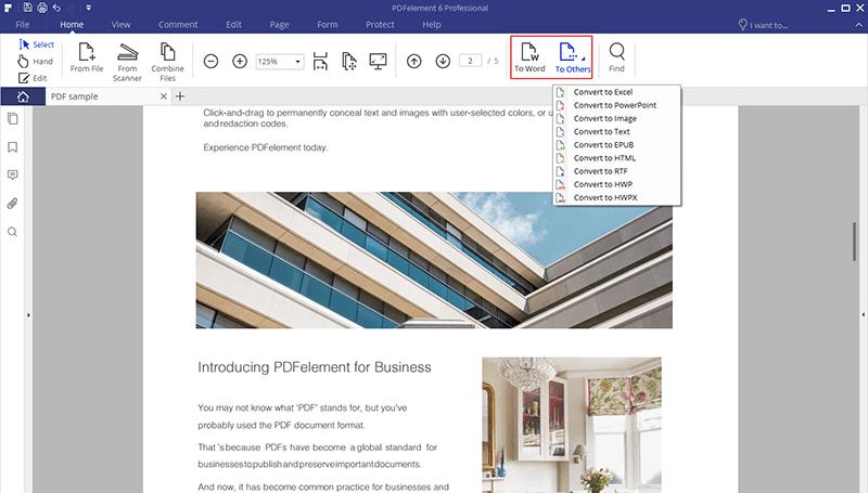Nitro da PDF a Text