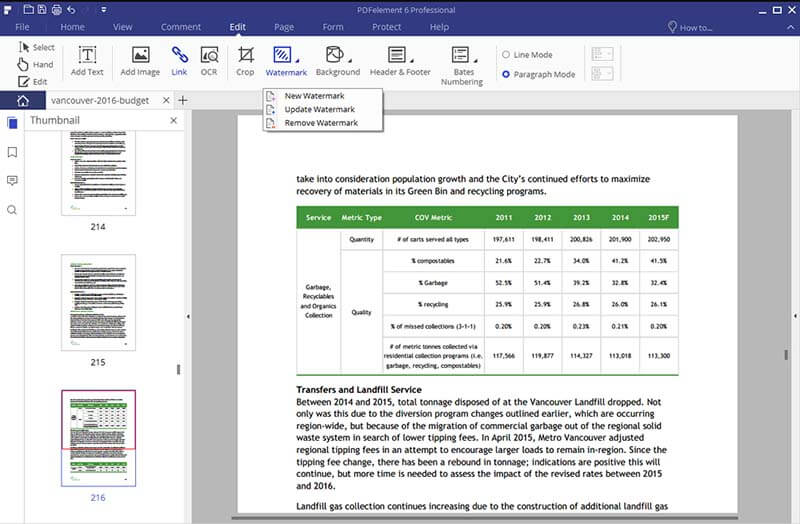come rimuovere la filigrana dai pdf