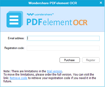 Registra il Plug-in OCR