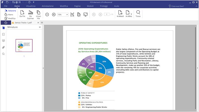comment créer un fichier pdf à partir d'un scanner