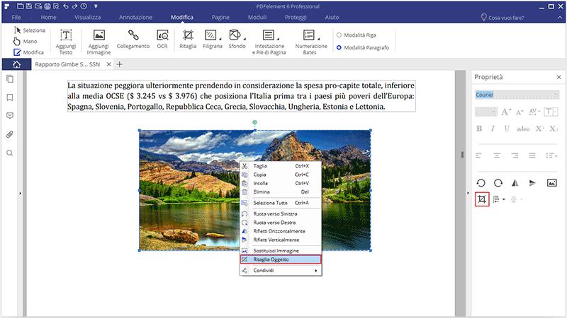 edit objects in pdf