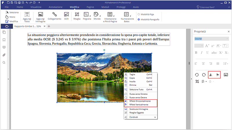 edit graphics in pdf