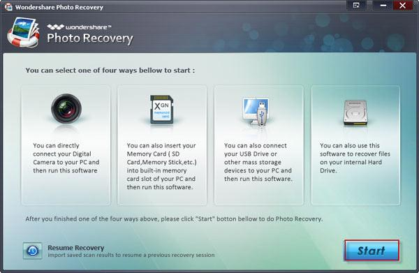 recover photos from sony memory card