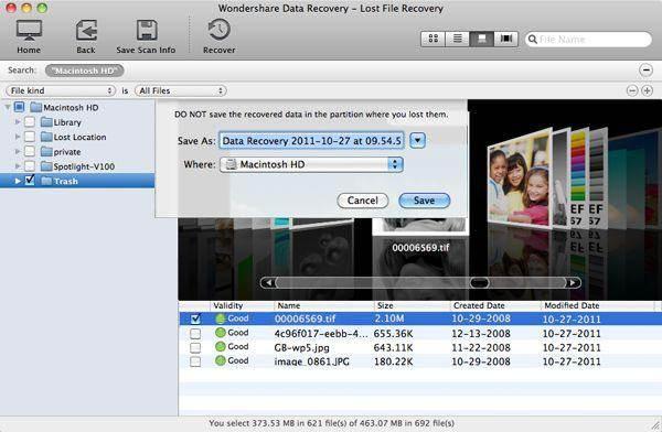 recover imovie files