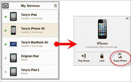 reset iphone without losing data