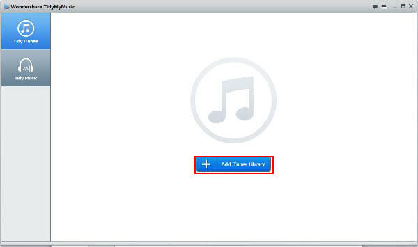 clean music library