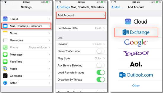 backup contacts from iphone