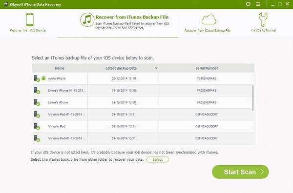 iTunes Backup Extractor