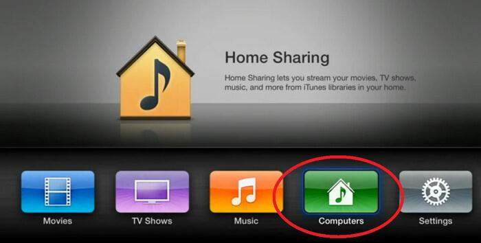 home sharing tv