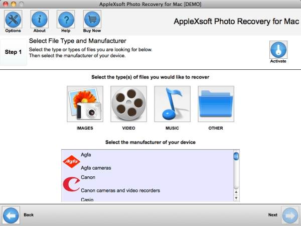 recover my photos on mac