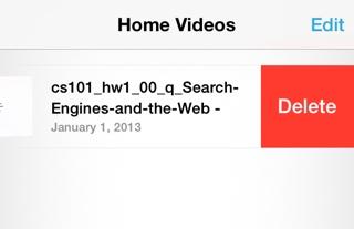 videos delete ios 7