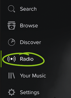 Enjoy yourself with Spotify Radio anytime and anywhere