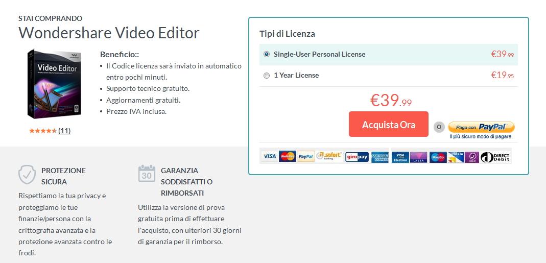 purchase Filmora