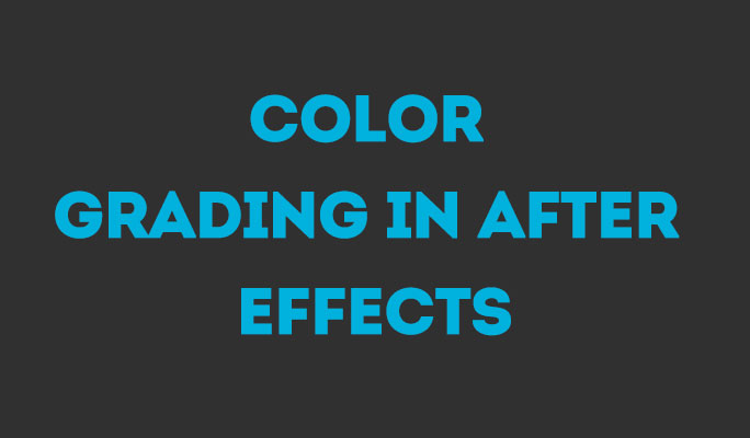 Color Grading in After Effects