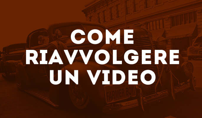 Come riavvolgere un video