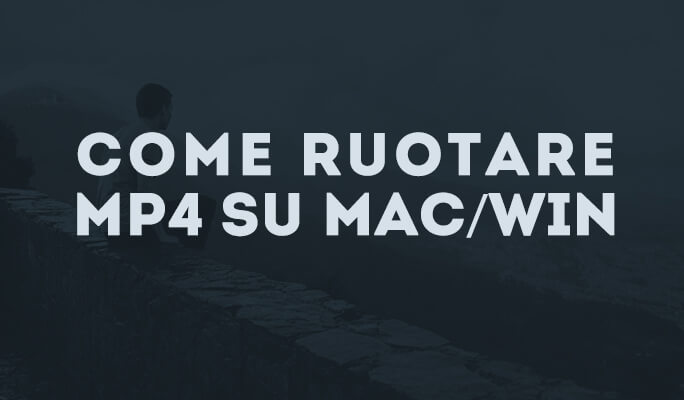 Rotazione MP4 su Mac/Win (Windows 8)