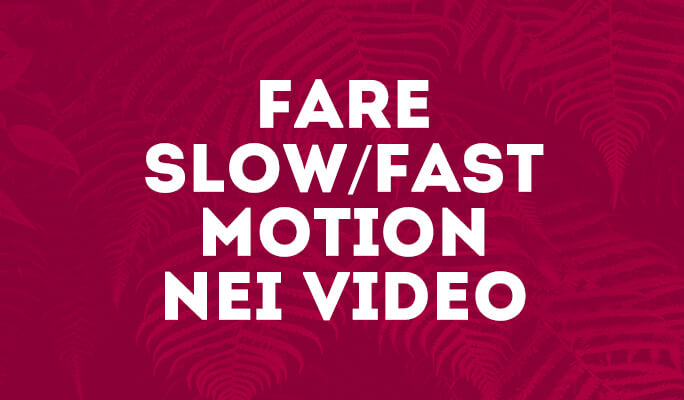 Come Fare Slow/Fast Motion sui Video (Effetti Speed Up/Slow Down)