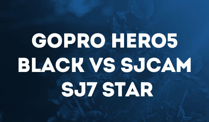 GoPro Hero5 Black Vs il SJCAM SJ7 Star