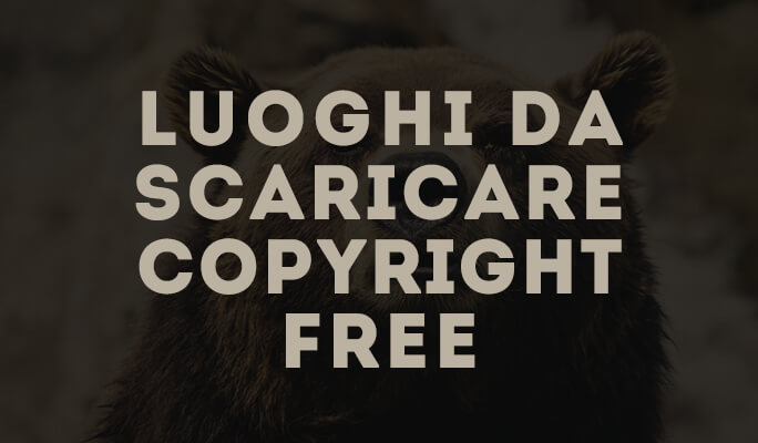 Luoghi da scaricare Copyright free