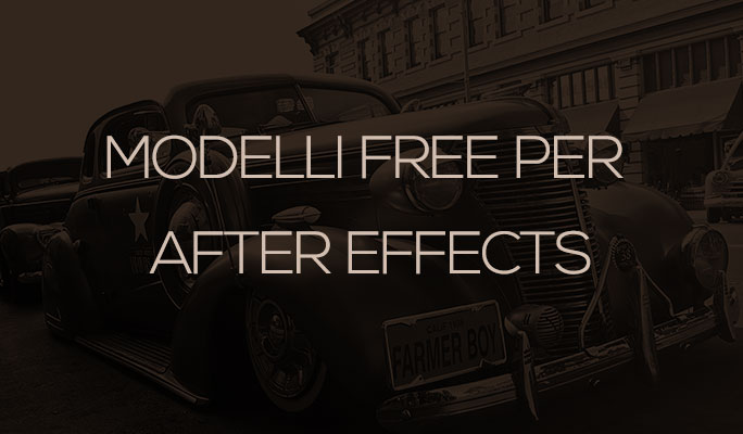 Modelli Free per After Effects