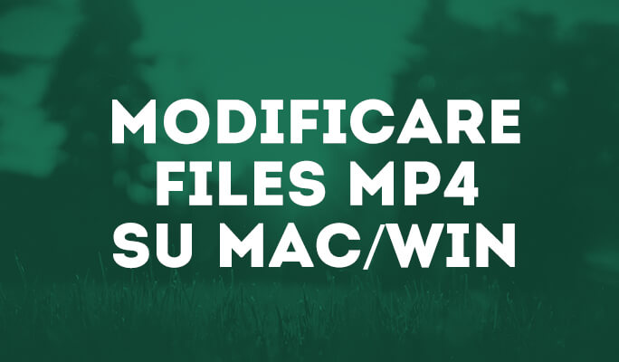 Come Modificare Video Files MP4 su Mac/Win