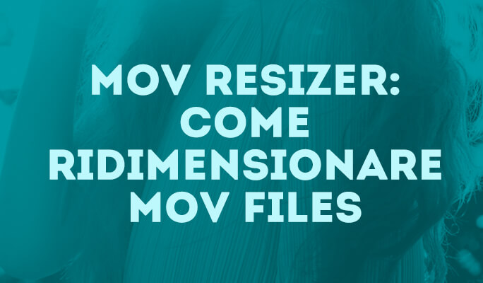 Come Ridurre Peso MOV Files