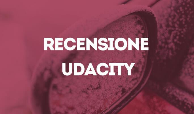 Recensione Udacity