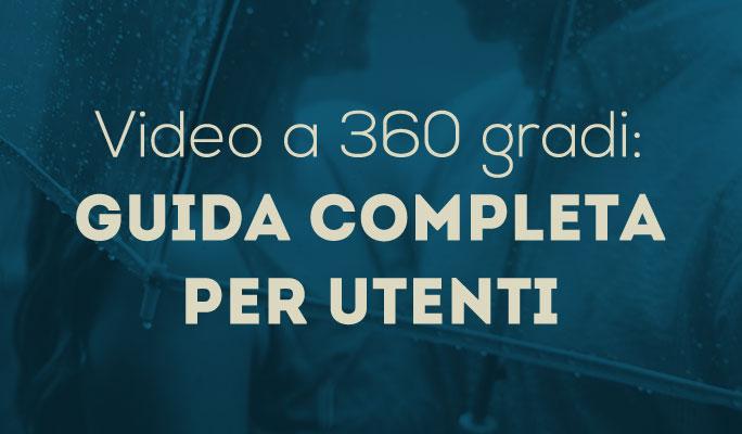 Video a 360 gradi: Guida completa per utenti
