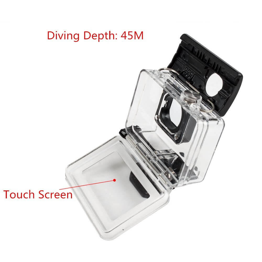 ADIKA Waterproof Housing with Touch Screen for Yi 4K