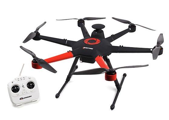 aperture hexacopter