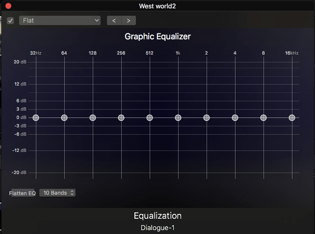 Audio Equalization