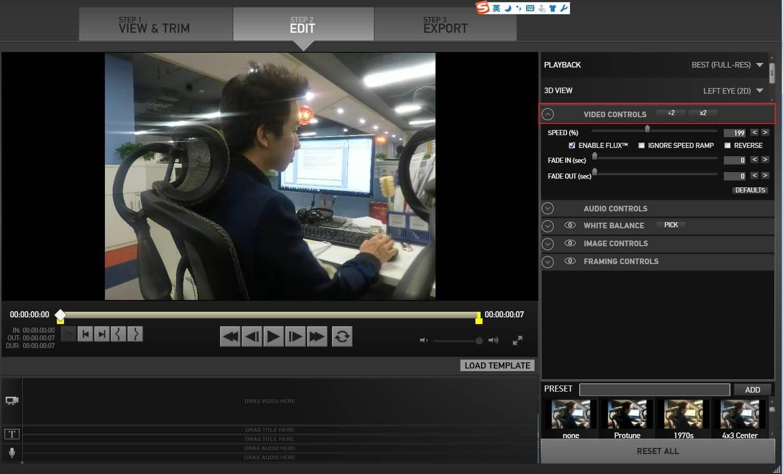 GoPro Studio Modifica Interfaccia