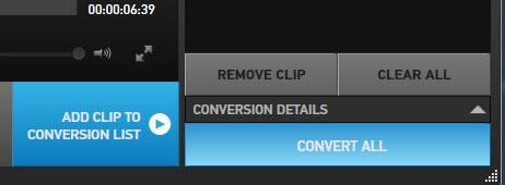 Conversione Studio GoPro
