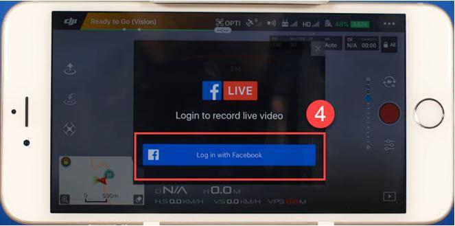 account drone facebook