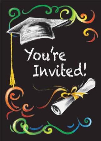 invito di laurea walmart