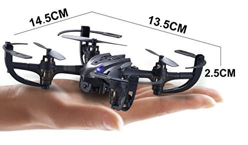 hasakee mini rc helicopter drone