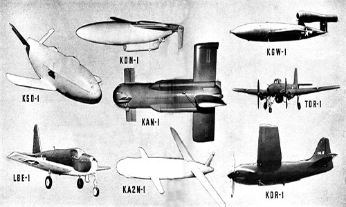 storia dei droni